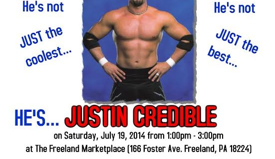 Attention Pro Wrestling Fans ~ Justin Credible