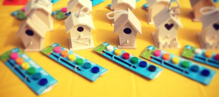 Kidz Workshop ~ Paint your choice of a jewelry box or bird house