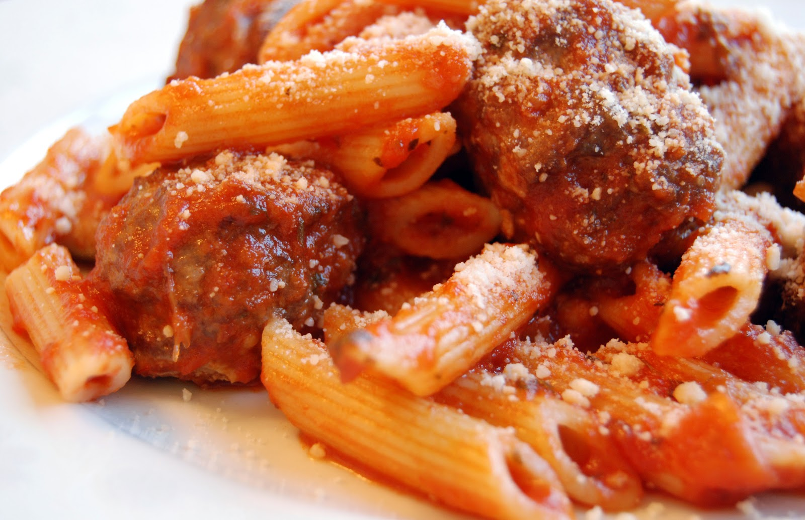 pasta and Meatballs | Freeland Marketplace
